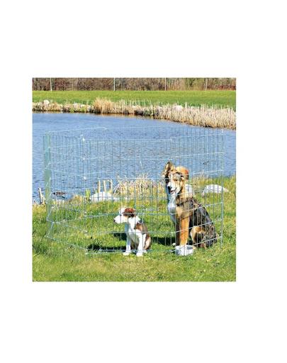 TRIXIE Tarc pentru caini din metal 61 x 91 cm