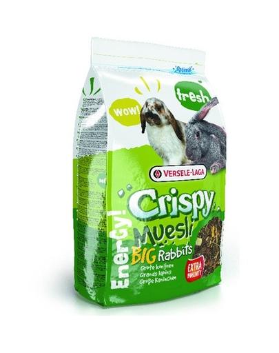 VERSELE-LAGA Crispy Muesli - Big Rabbits 2,75 kg - pentru iepuri fera.ro