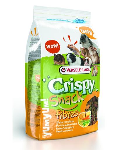 VERSELE-LAGA Crispy Snack Fibres 650 g - amestec complementar cu conținut ridicat de fibre