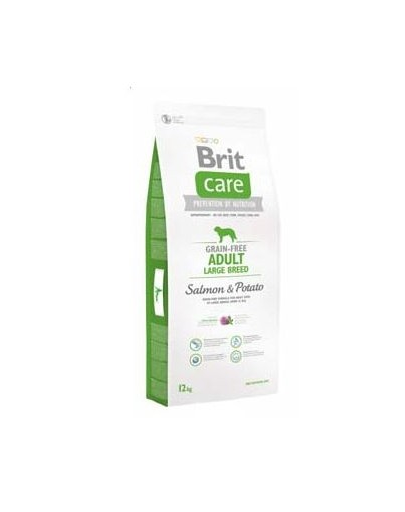 BRIT Care Grain-Free Adult Large Breed Salmon & Potato 1 kg