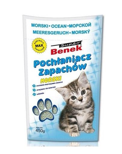 Benek Dezinfectant / absorbant mirosuri marin 450 g fera.ro