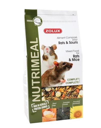 ZOLUX Amestec Nutri'Meal pentru șoareci/șobolani 800 g fera.ro