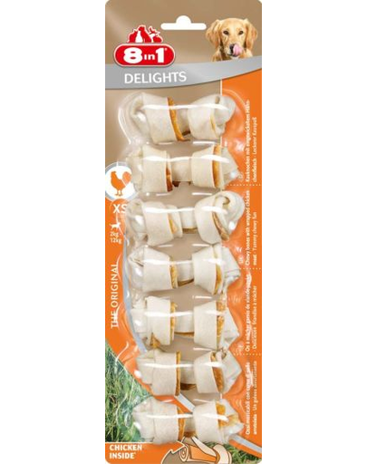 8in1 Snack Delights oase XS 7 buc