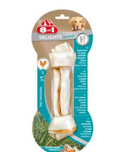 8IN1 Gustare Dental Delights Bone L 1 buc.