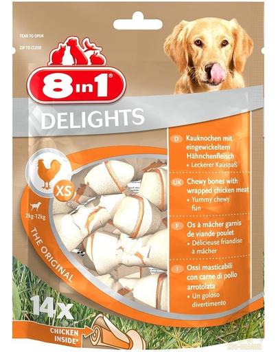 8IN1 Recompensă Delights Bones XS 14 buc. fera.ro