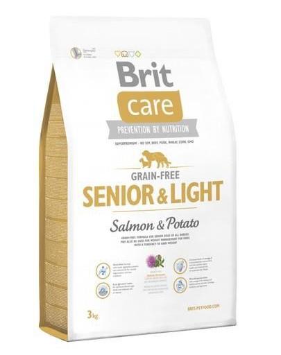 BRIT Care Grain-Free Senior Salmon & Potato 3 kg