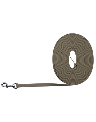 TRIXIE Easy Life Tracking Leash, 10 M/17 mm, Taupe