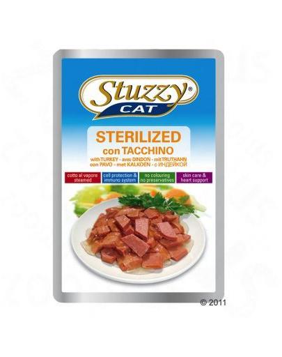 STUZZY Sterilized cu curcan pentru pisici sterilizate 100 g