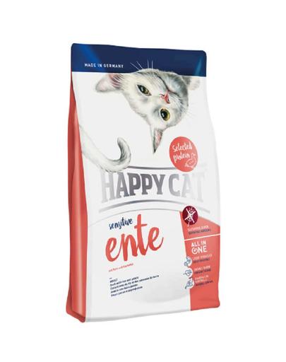 HAPPY CAT Sensitive rață 4 kg