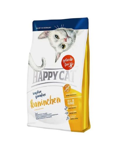 HAPPY CAT Sensitive Grainfree iepure 4 kg fera.ro