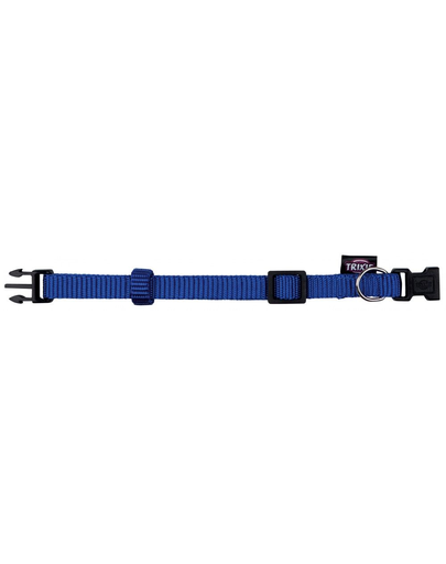 TRIXIE Zgardă Premium S-M 25–40 cm/15 mm, albastru