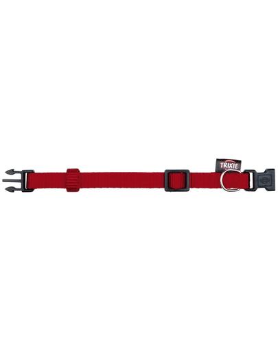 TRIXIE Zgardă Premium S-M 25–40 cm/15 mm, roșu