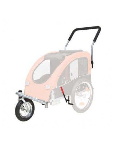 TRIXIE Kit conversie cărucior acoperit cu roți pentru jogging sau bicicletă 12816 fera.ro