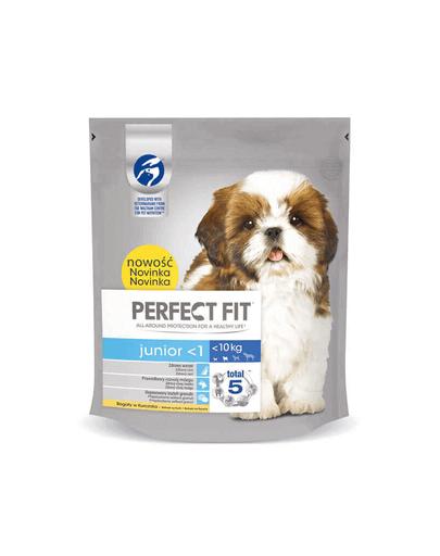 PERFECT Fit junior (<1 years) bogat în pui pentru câini de talie mică 5x825 g