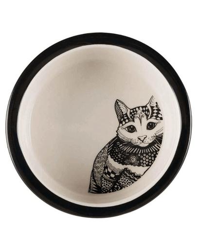 TRIXIE Bol Ceramic Zentangle 0.3 l/12 cm