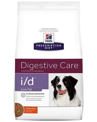 HILL'S Prescription Diet i/d Canine Low Fat 12 kg fera.ro