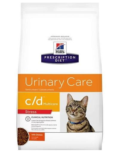 HILL'S Prescription Diet Feline c/d Multicare Urinary Stress 4 kg fera.ro