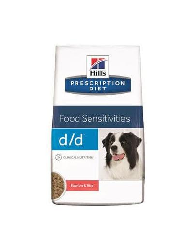 HILLS Prescription Diet Canine d/d Salmon & Rice 12 kg fera.ro