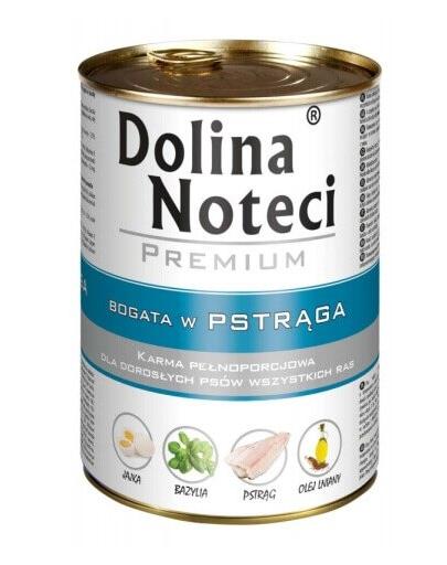 DOLINA NOTECI Premium Hrana pentru caini, bogata in pastrav, 150g fera.ro