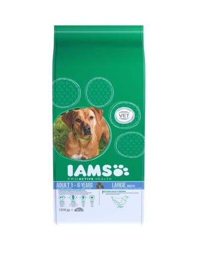IAMS ProActive Health Adult Large Breed cu pui 12 kg