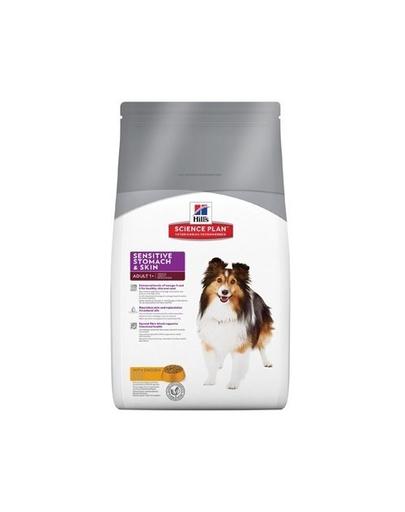 HILL'S Canine Adult Sensitive Stomach & skin 3 kg