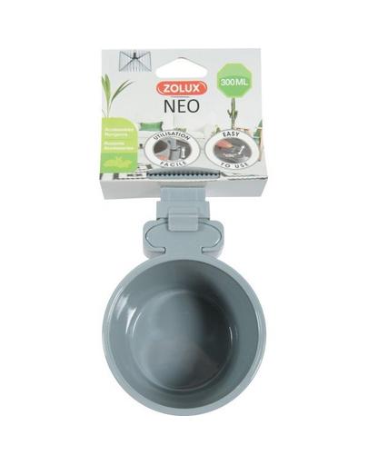 ZOLUX NEO Bol din plastic pentru agatat la cusca, 12 cm, 500 ml fera.ro