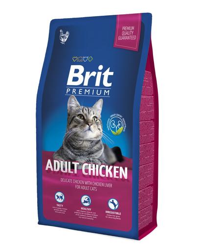 BRIT Premium Cat Adult pui 1,5 kg