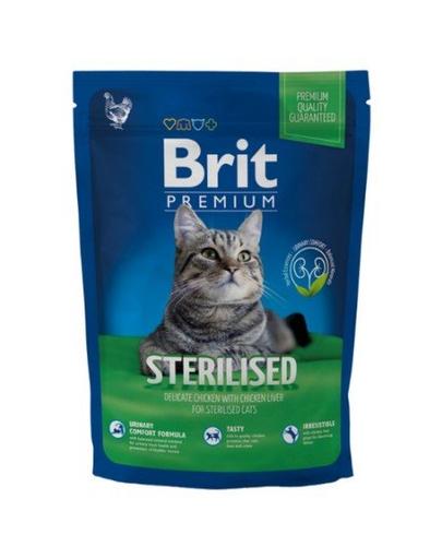 BRIT Premium Cat Sterilised 300 g fera.ro