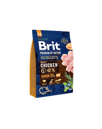 BRIT Premium By Nature Senior Small Medium S+M 3 kg