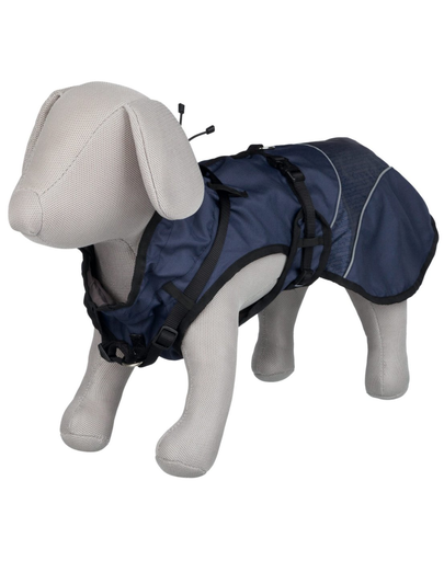 TRIXIE Palton impermeabil pentru câini Duo, L: 55 cm fera.ro