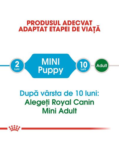 Royal Canin Mini Puppy hrana uscata caine junior, 2 kg