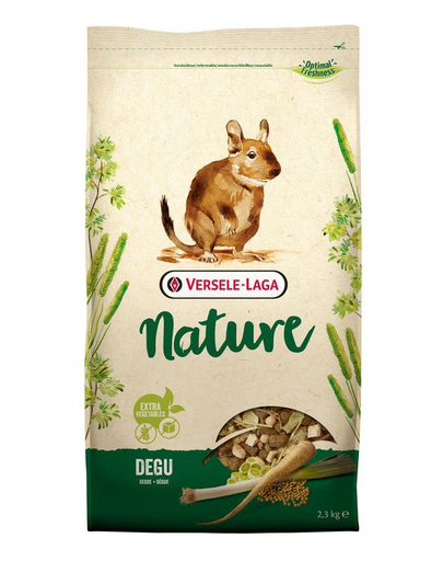 VERSELE-LAGA Nature - Pentru veverițe Degu 2,3 kg