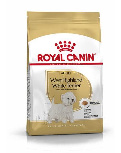Royal Canin West Highland Terrier Adult hrana uscata caine Westie, 0.5 kg