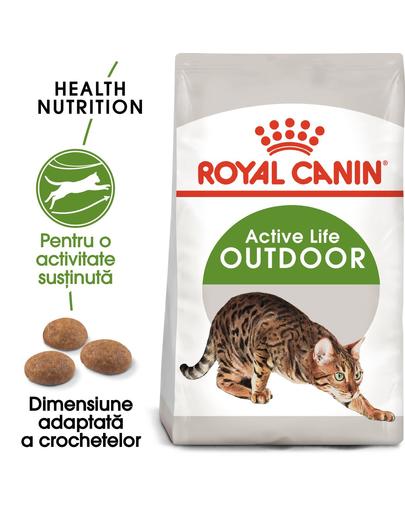 ROYAL CANIN Outdoor 30 hrana uscata pentru pisicile adulte care ies afara 400 g