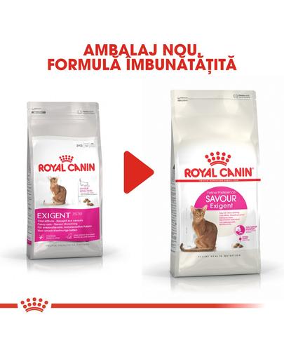 Royal Canin Exigent Savour Adult hrana uscata pisica pentru apetit capricios, 10 kg + 2 kg