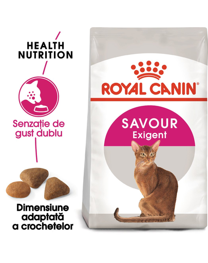 Royal Canin Exigent Savour Adult hrana uscata pisica pentru apetit capricios, 10 kg fera.ro