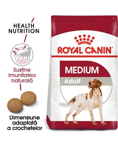 Royal Canin Medium Adult hrana uscata caine, 15 kg