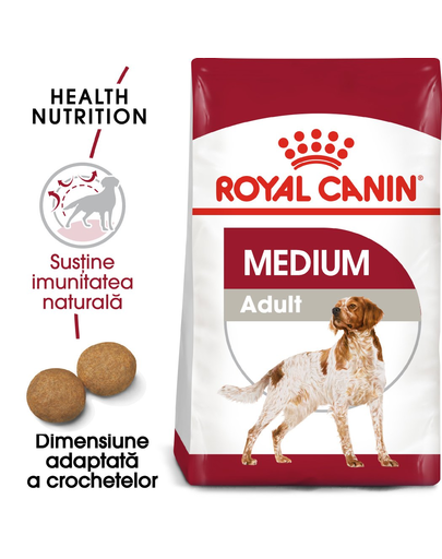 Royal Canin Medium Adult 7+  hrana uscata caine senior, 4 kg