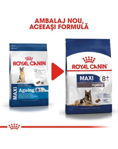 Royal Canin Maxi Ageing 8+ hrana uscata caine peste 8 ani, 15 kg
