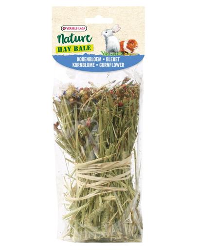 VERSELE-LAGA Nature Hay Bale - cu fân și albăstrele 70 g
