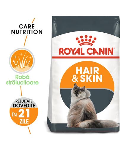 Royal Canin Hair&Skin Care Adult hrana uscata pisica pentru piele si blana, 4 kg fera.ro