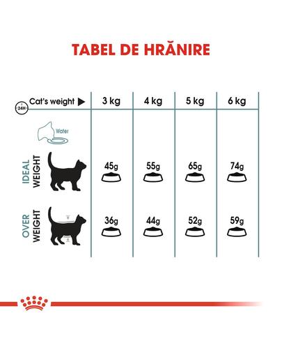 Royal Canin Hairball Care Adult hrana uscata pisica pentru reducerea formarii bezoarelor, 400 g