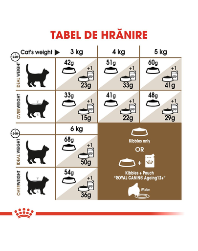 Royal Canin Ageing 12 + hrana uscata pisica senior, 2 kg