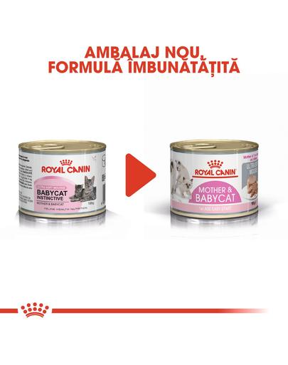 Royal Canin Mother & BabyCat hrana umeda pisica mama si puii pana la 4 luni, 195 g