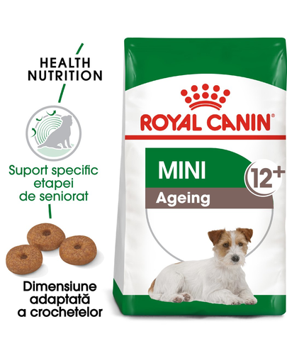 Royal Canin Mini Ageing 12+ Hrană Uscată Câine 0.8 kg