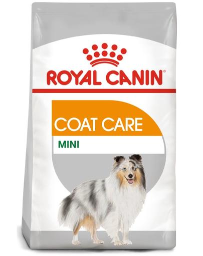 Royal Canin Mini Coat Care Adult hrana uscata caine pentru blana sanatoasa si lucioasa, 3 kg fera.ro