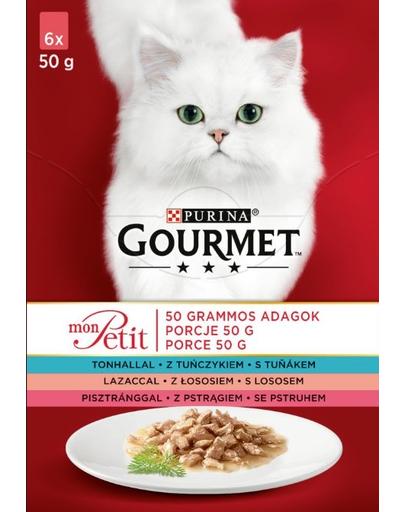GOURMET Mon Petit Mix pește (6x50 g)