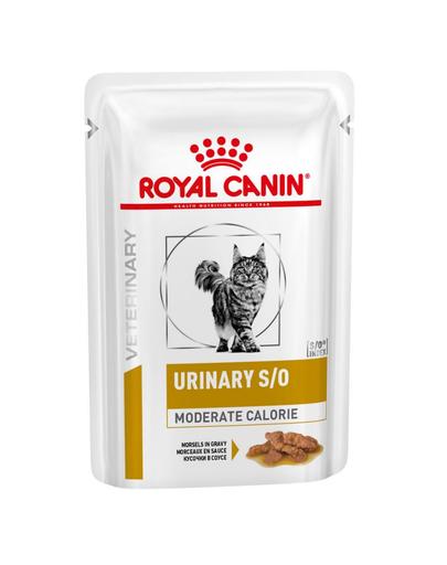 ROYAL CANIN Veterinary Diet Feline Urinary S/O Moderate Calorie 12 x 85 gr fera.ro