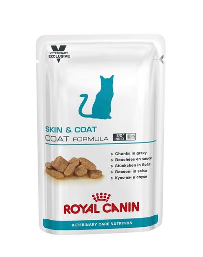 ROYAL CANIN Cat Skin & Coat 12 x 85 gr fera.ro