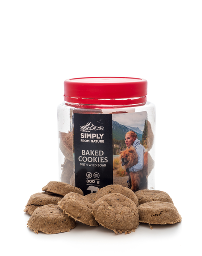SIMPLY FROM NATURE Baked Cookies cu mistreț 300 g